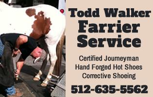 Todd Walker Farrier Service