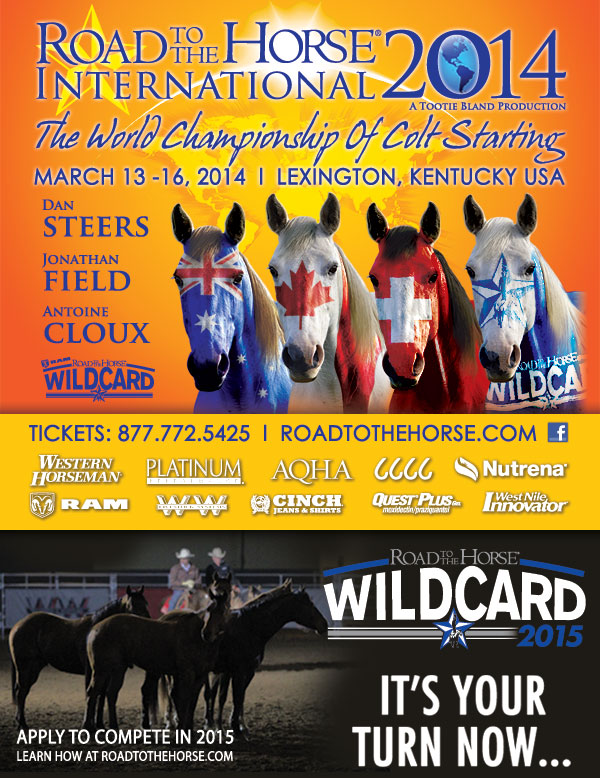 Road to the Horse International 2014 World Championship of Colt Starting