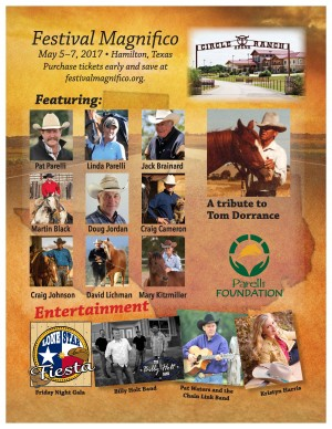 Festival Magnifico To Feature 9 Master Horsemen Demonstrations to Benefit Parelli Foundation