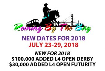 NRHA Reining – Reining By The Bay – July, 2018