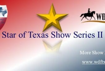WDFTX Star of Texas Show Series II – WDAA Western Dressage – April 8, 2018