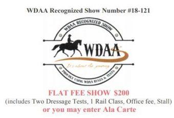 Texas Rose Spring Western Dressage Lite WDAA – April 15, 2018- Tyler, TX