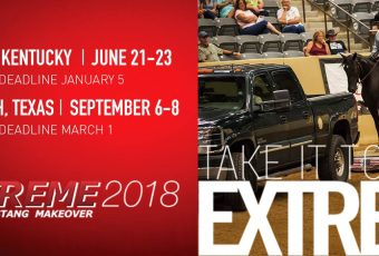 Extreme Mustang Makeover 2018 – Ft Worth, Texas